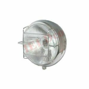 Headlight Headlamp Chrome With Grill Jawa CZ 250 350 California 638 634 ECs