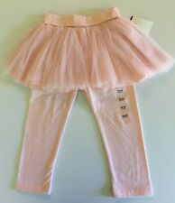 """""""New"""" Baby Gap Pink Tulle Tutu With Attached Leggings, Combo Size 18-24 Months."""