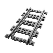 32x New Genuine Lego Straight Train/Rail Tracks (Design:17275, Element:6070018)