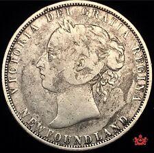 1882H Newfoundland 50 Cents - F - Lot#1616