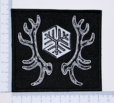 AGALLOCH 02 embroidered patch, thermal glue on the back
