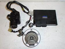 Yamaha YZF R6 2008 - 2014 13 S: codé Hiss serrure avec 1 clés & ECU CDI: Utilisés Pièces