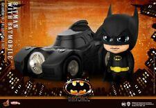 Hot Toys Cosbaby COSB710 Batman and Batmobile Mini PVC Figure Model Toys