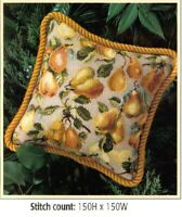 PEARS PILLOW  CROSS STITCH PATTERN ONLY  YD  EYUU