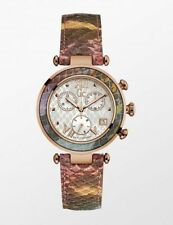 GC Women's GUESS Collection Leather Band Quartz Watch Y05013m1 Tags