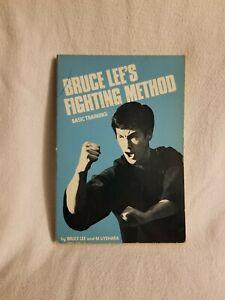 Bruce Lee's Fighting Method Basic Training Paperback Book