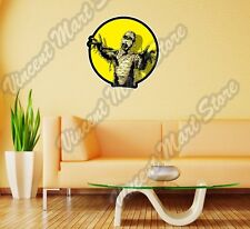 """Comic Book Scary Angry Mummy Dead Wall Sticker Room Interior Decor 22""""X22"""""""