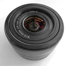 PANASONIC LUMIX G 12-32mm F3.5-5.6 ASPH MFT lentille noir f/Micro 4/3 Olympus