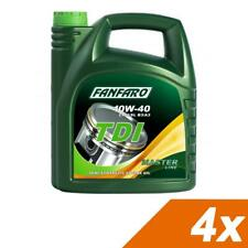 4x5L FANFARO TDI 10W-40 ACEA A3/B3 Semi Synthetic Engine Oil  API CH-4/SL