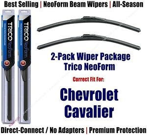 2pk Super-Premium NeoForm Wipers fit 1982-1989 Chevrolet Cavalier 160x2