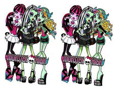 2 x Monster High HUGE WALL STICKERS 33""