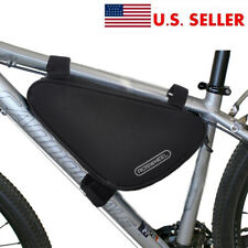 Black Mountain Bike Storage Pouch Cycling Bicycle Frame Front Tube Triangle Bag
