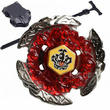 Hot Fusion METAL Beyblade Masters BB116C HELL CROWN+BLUE STRING LAUNCHER+GRIP