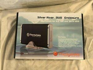 "Thermaltake Silver River Duo Enclosure A2396 For 3.5"" IDE SATA HDD"