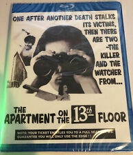 The Apartment On The 13th Floor aka Cannibal Man (1972) (Blu-Ray) Code Red: New!