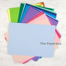 A4 Coloured Craft Card, matte, double sided. Choose a colour & pack size