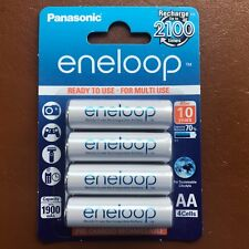 4 x Panasonic eneloop AA 1900 mAh Rechargeable Batteries ready NiMH HR6 BK-3MCCE