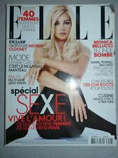 Magazine mode fashion ELLE french #3223 8 octobre 2007 Mocica Bellucci blonde