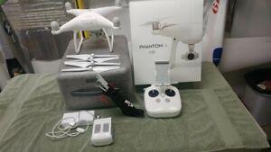 DJI Phantom 4, 4K Camera Drone - White