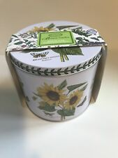 portmeirion botanic garden Mug In A Tin( Sunflower)Rare...