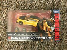 TRANSFORMERS Takara Tomy MB18 Movie Best Warhammer Bumblebee MISB