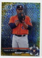 2017 Bowman Chrome FRANCIS MARTES Rookie Card RC GOLD SHIMMER REFRACTOR #/50 146