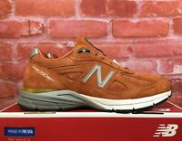 NEW BALANCE 990V4 BURNT ORANGE M990JP4 MADE IN USA MEN'S RUNNING SHOES SIZES