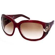 Roberto Cavalli Ladies STATO Sunglasses Rc390s T35 Dark Brown Havana