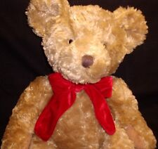 Bombay Co Exclusive Gilmore Curly Hair Plush Stuffed Teddy Russ Berrie 2004 16""