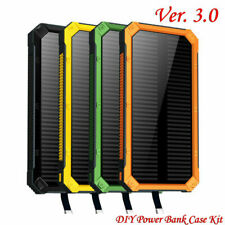 Universal Power Bank 300000mAh Waterproof Solar USB LED Battery Portable Charger