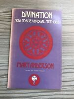 Divination: The Secret Power of Numbers by Anderson, Mary L. 1974 1st Edition