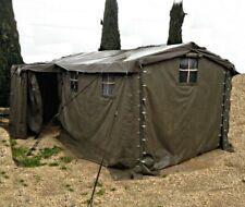 Tente militaire GRANDE 4.5 x 2.5 originale armée Suisse de commandement