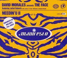 David Morales(CD Single)Needin' U-Manifesto-New
