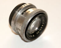 RARE Boyer Paris Topaz 90 mm F4.5 LENS COVERS up to 6x6 cm SN 427387
