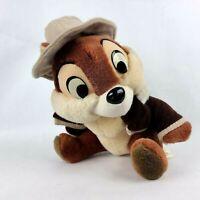 """Disneyland Walt Disney World Chip 8"""" Plush Chipmunk Rescue Rangers Vintage"""
