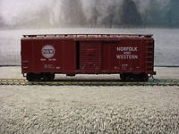HO Scale Athearn 1210 Norfolk & Western 40' Single Door Boxcar 361508 Knuckle
