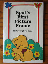 Rare Spot's First Picture Frame - Eric Hill, Salspot Limited (1996) - Brand New