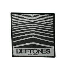 Deftones Woven Sew On Patch - Abstract Lines Battle Jacket Patch 104-Q