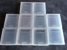 Lot of 10 Game Boy / Game Boy Color Game Cartridge Plastic Nintendo Cases