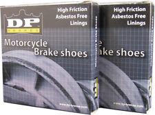 DP Brakes|Shoe,Mx Suz/Yam,F/R|9110 Organic Brake Shoe Front or Rear DP-9110