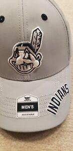 Cleveland Indians baseball Hat Cap Grey WAHOO