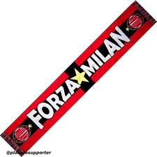 ECHARPE MILAN AC Italie scarf schal sjaal cachecol - No drapeau fanion maillot