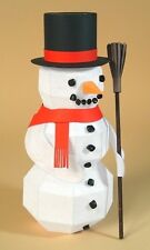 "A4 Card Making Templates ""Frozen Fred"" 3D Snowman +Display Box by Card Carousel"