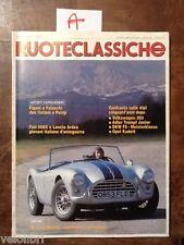 RUOTECLASSICHE Aprile 1988 - Fiat 508 c, Lancia Ardea, Volkswagen 303, DKW F5