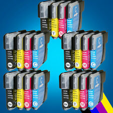 20 Brother LC980 LC1100 Ink Cartridge for DCP 385C 395CN 585CW 6690CW & MFC 2
