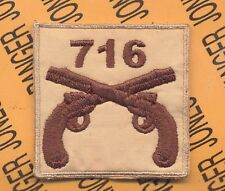 716 MP Military Police 101 Airborne HCI patch C