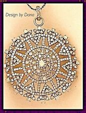 Diamond-Sterling Silver-Pave-Starburst Design-Pendent-Chain-Necklace-BOHO CHIC