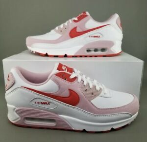 Nike Air Max 90 Valentines Love Letter Shoes DD8029-100 Women's 9.5 / Men's 8