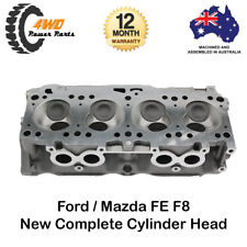 Ford Courier Mazda E2000 B2000 FE F8 Complete Cylinder Head 4 Cyl 8V Assembled