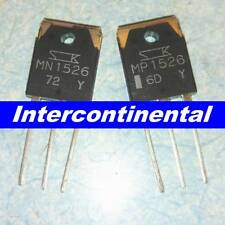 2pcs MP1526 + 2pcs MN1526 Transistor DIP SANKEN TO-3PN